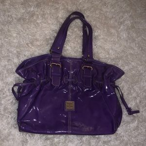Dooney and Bourke Chiara Bag - purple